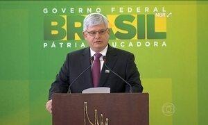 Rodrigo Janot toma posse do cargo na Procuradoria da República