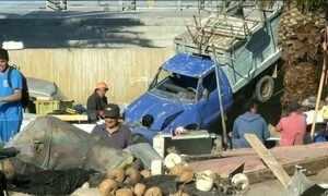 Sobe para 12 o número de mortos no terremoto