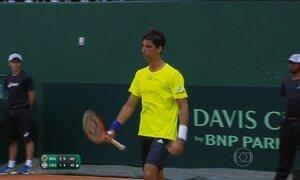 Brasil sai na frente da Croácia na briga por uma vaga no grupo mundial da Copa Davis