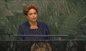 Dilma anuncia meta do país para reduzir emissão de fases de efeito estufa