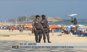 Polícia reforça policiamento para impedir arrastões