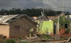 Temporal provoca estragos no interior do Paraná