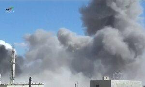 Aviões da Rússia atacam pela primeira vez alvos na Síria