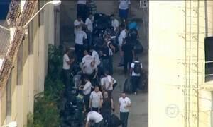 Termina a transferência de presos no batalhão especial da PM no Rio