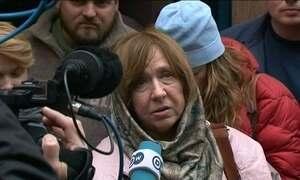 Escritora bielorussa Svetlana Alexiévich recebe Nobel de Literatura