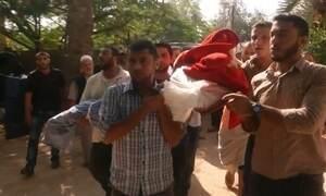 Mulher grávida e filha de 3 anos morrem em ataque aéreo israelense à Faixa de Gaza