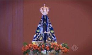 Mais de 35 mil pessoas vão à missa solene em Aparecida (SP)
