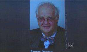 Angus Deaton conquista prêmio Nobel de Economia