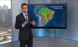 Confira como fica o tempo nesta quinta-feira (15) em todo o Brasil