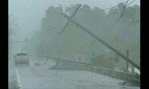 Supertufão atinge norte das Filipinas com ventos de até 200 km/h