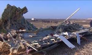 Fontes ligadas à CIA afirmam que avião russo foi derrubado por bomba