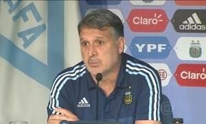 Argentina vai enfrentar o Brasil sem os três principais jogadores