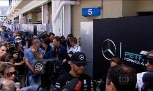 Circuito de Interlagos já está movimentado; corrida no Brasil é a penúltima da temporada