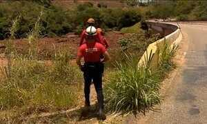 Bombeiros acham trinca em barragem que não se rompeu em Mariana