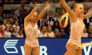 Seleção brasileira de Ginástica Rítmica treina forte em Sergipe para as Olimpíadas do Rio