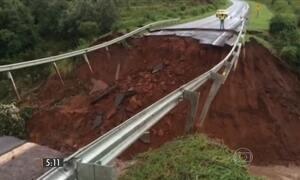 Chuva causa prejuízo em MS e 20 cidades estão em emergência
