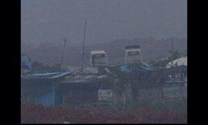 Deslizamento de terra deixa 33 prédios soterrados no Sul da China