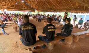 PF fecha maior garimpo de diamantes do país, que ficava em terra indígena