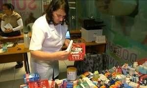 Farmácia solidária recebe doações de remédios em Farroupilha (RS)