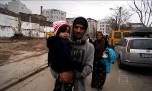 Fantástico percorre 7 países e mostra o drama de refugiados na Europa