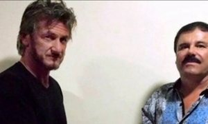 Sean Penn se encontra com El Chapo meses antes da captura do traficante mexicano