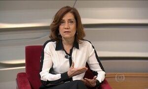 Miriam Leitão comenta a queda de vendas do comércio varejista