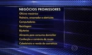 Pesquisa do Sebrae aponta os ramos de negócio mais promissores na crise