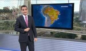 Previsão é de chuva forte para o Rio Grande do Sul