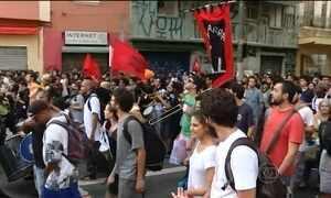 Novo protesto contra o aumento do transporte público em SP termina sem violência