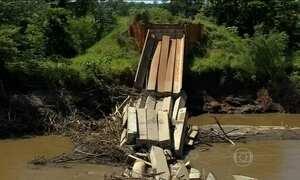 Chuva adia início das aulas de alunos da rede estadual do Mato Grosso do Sul