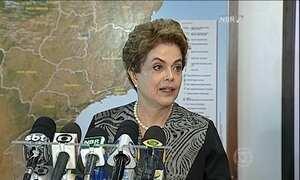 Dilma visita sala de controle para a microcefalia