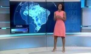 Região Sul tem alerta de tempestades no fim de semana