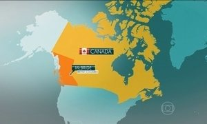 Cinco pessoas morrem em uma avalanche no Canadá