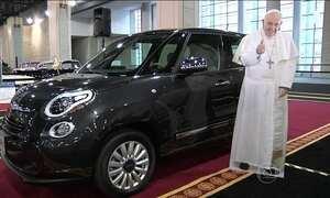 Arquidiocese da Filadélfia leiloa um dos carros usados pelo Papa Francisco