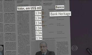Delatores da Operação Lava Jato apresentam uma relação de novas contas de Eduardo Cunha