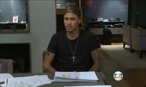 'Quando mexe na família começa a doer', diz Neymar de acusações