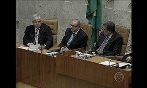 Rodrigo Janot e Eduardo Cunha não se falam durante cerimônia no STF