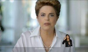Presidente Dilma fala na TV sobre o combate ao zika vírus