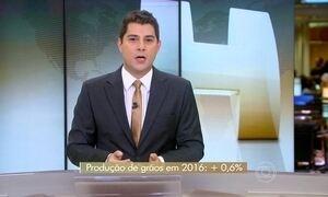 Previsão é que safra brasileira de grãos será maior do que a de 2015