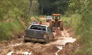 Chuva agrava situação de estradas recém-reformadas em MS