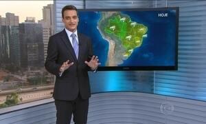 Veja a previsão do tempo para esta sexta-feira (5) em todo o país