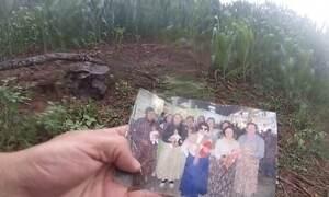 Veja o mistério em torno de foto encontrada no meio de um milharal