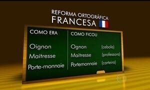 Língua francesa sofre reforma ortográfica