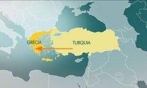Naufrágio mata 35 refugiados no Mar Egeu
