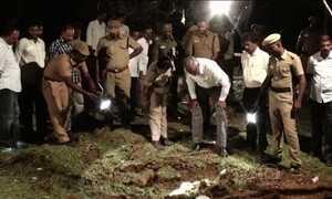 Objeto cai do céu e provoca explosão na Índia