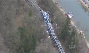 Acidente entre trens na Alemanha deixa 10 mortos e mais de 80 feridos