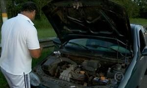 Mais de 500 carros quebraram durante a volta para casa nas rodovias