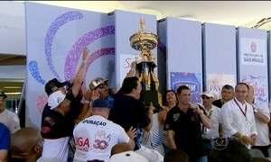 Império de Casa Verde comemora título esperado há 10 anos, em São Paulo