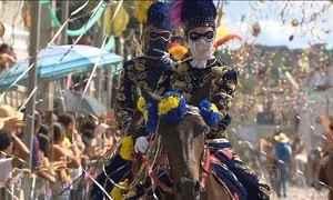 Cidade em Minas Gerais tem carnaval diferente que mistura história e elegância