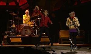 Rolling Stones voltam ao Brasil e emocionam público